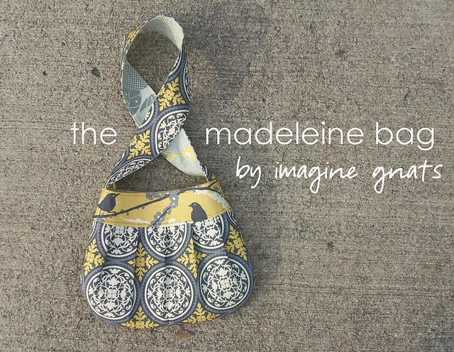 The Madeleine Bag Tutorial from Imagine Gnats