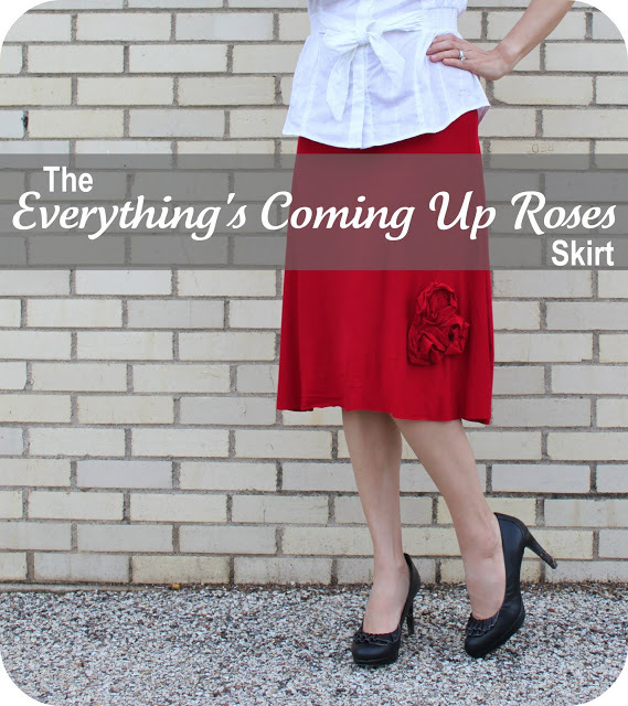 The Everything's Coming Up Roses Skirt {A Tutorial} from Smashed Peas and Carrots
