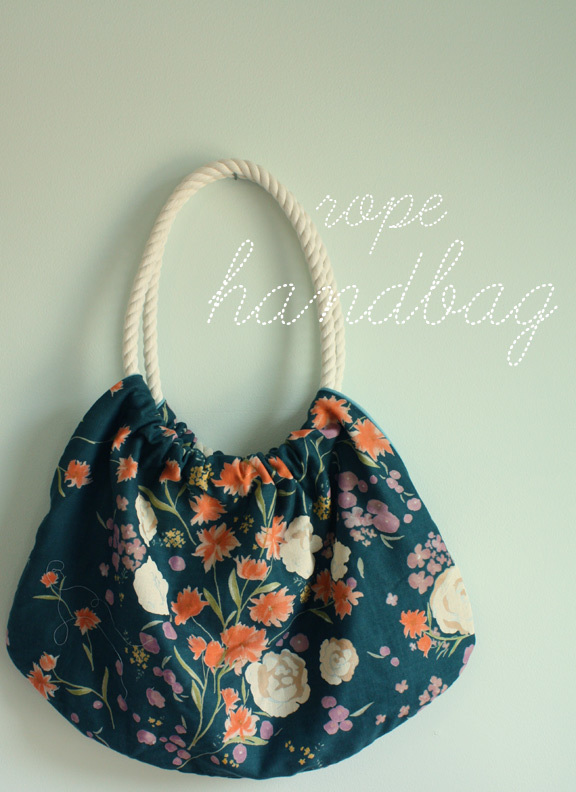 Rope handbag from The Long Thread
