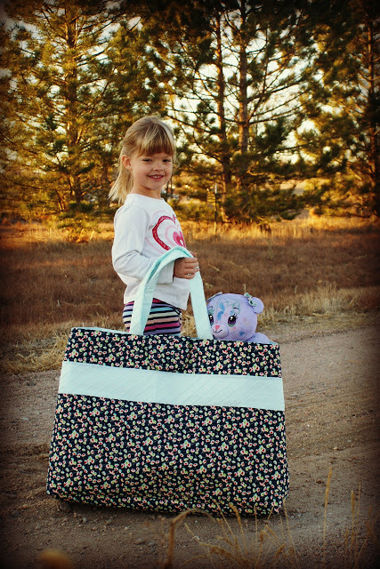 Sew Long Suitcase Bag from Lilac Lane