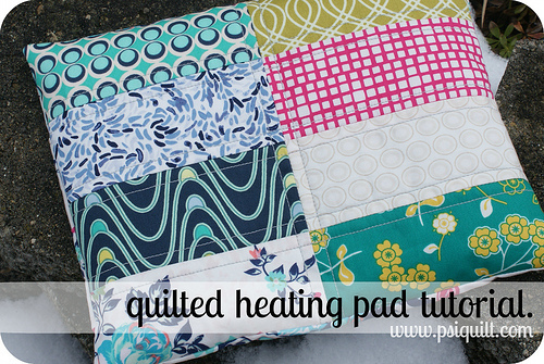 Quilted Heating Pad Tutorial from Art Gallery fabrics