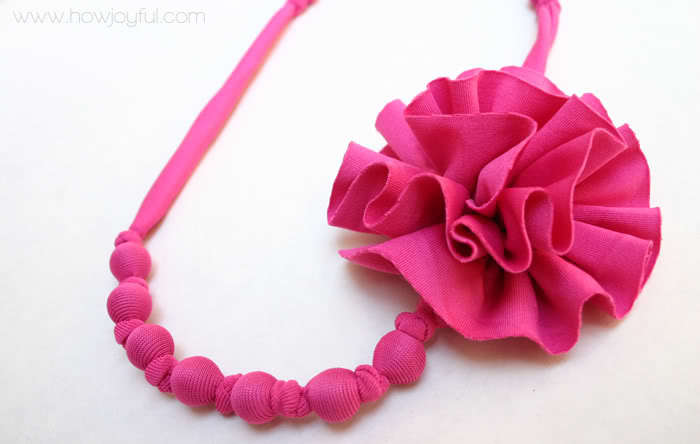 Anthropologie Inspired Necklace Tutorial from How Joyful