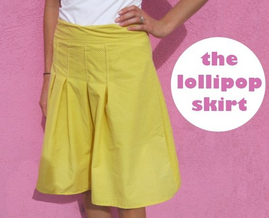 The Lollipop Skirt from Naptime Crafters