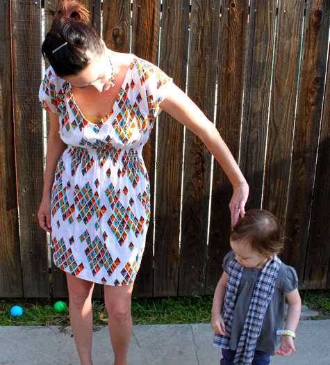 The Most Flattering Shirt Dress DIY from pretty prudent