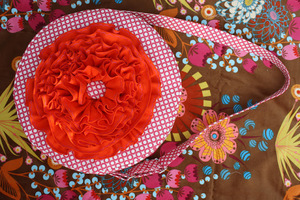 Red Poppy Bag from Sew Sweetness