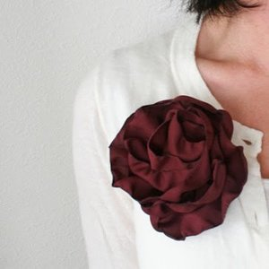 Just in time for fall flower tutorial from V. & Co