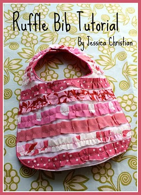 Ruffle Bib by Craftiness is Not Optional