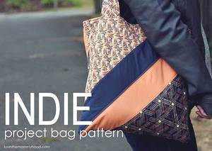 Indie Project Bag Pattern from luvinthemommyhood