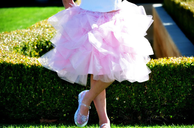 The Cotton Candy Tulle Skirt by Simple Simon and Company