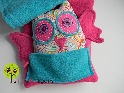 Owl Stuffie by 2 Little Hooligans