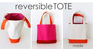 Reversible Lined Colorblocked Tote from Dana Made It