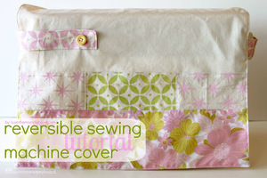 Reversible Sewing Machine Cover from luvinthemommyhood