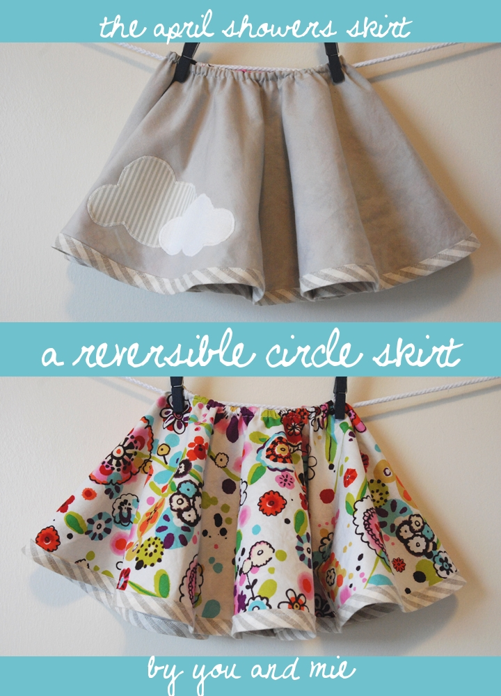 The April Showers Skirt by Spring Fling with You