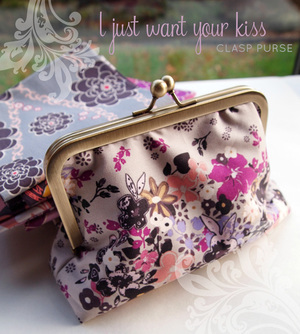 Clasp Purse Tutorial from I'm a Ginger Monkey