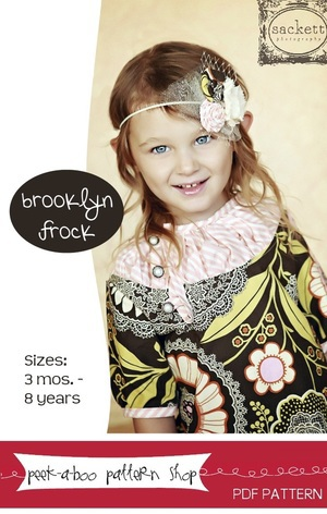 The Brooklyn Frock by Peek-a-boo Pattern Shop