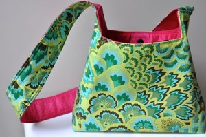 Olivia Bag pattern from Dixie Mango