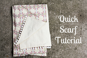 Quick Scarf Tutorial from In Color Order