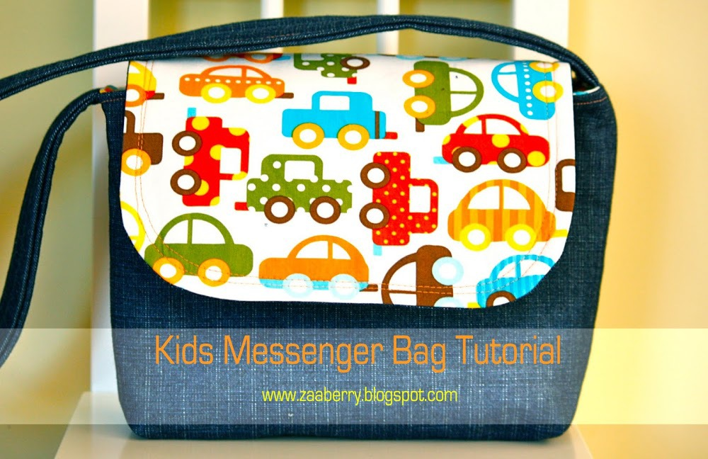 Kids Messenger Bag by Zaaberry