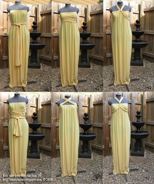 Golden Goddess Gown from Sharon Sews