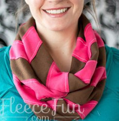 infinity scarf pattern by fleece fun