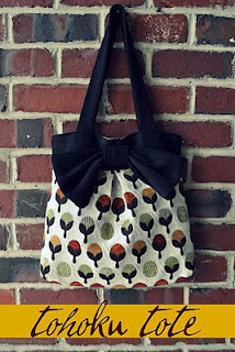 The Tohoku Tote by I am momma hear me roar