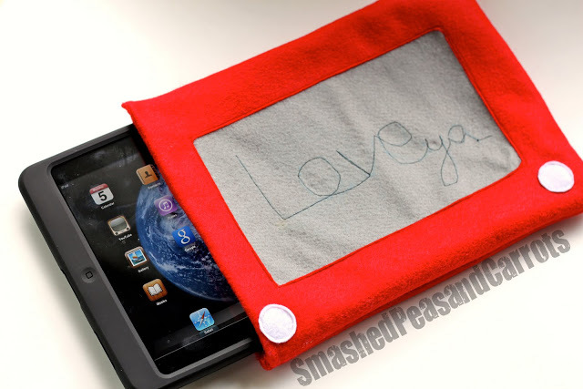 Etcha-Sketch ipad Cozy by Smashed Peas and Carrots