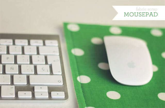 Fabric Mouse Pad by How Joyful