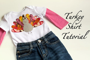 Turkey Shirt by The Cottage Mama