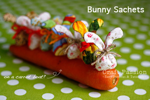 Bunny Sachet pattern from Craft Passion