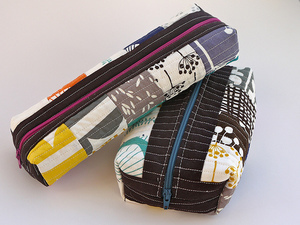 Boxed Zipper Pouch by Terrabyte Farm