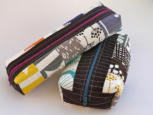 Boxed Zipper Pouch by Terrabyte Farm