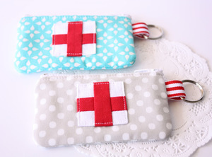 Emergency Zippered Pouch by A Spoonful of Sugar Designs