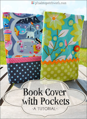 Book Cover with Pockets by Pixels to Patchwork