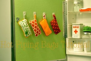 Hot Piping Bags by No Big Dill