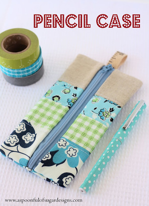 Pencil Zipper Case by Spoonful of Sugar Designs