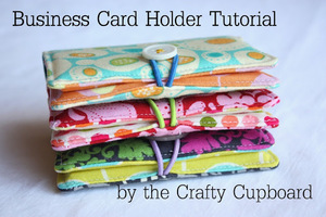 Business Card Holder Pattern by The Crafty Cupboard