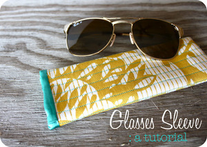 Sun Glasses Case by Sweet Verbena