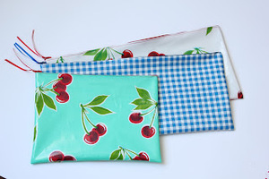 Oilcloth Pencil Case Tutorial by Miss Mary