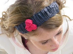 Ruffled Headband by Homestitched