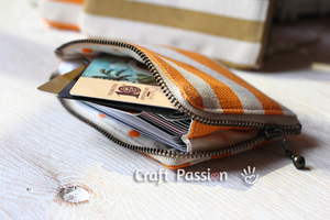 Zipper Card Pouch by Craft Passion