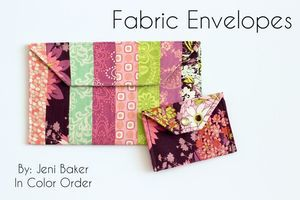 Fabric Envelopes by In Color Order