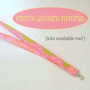 Pretty Lanyard Tutorial by SewCanshe