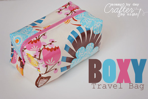 Boxy Travel Bag by Mommy By Day