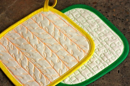 Potholder by Modern Domestic