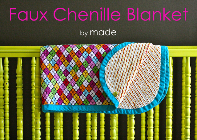Faux Chenille Blanket by Made