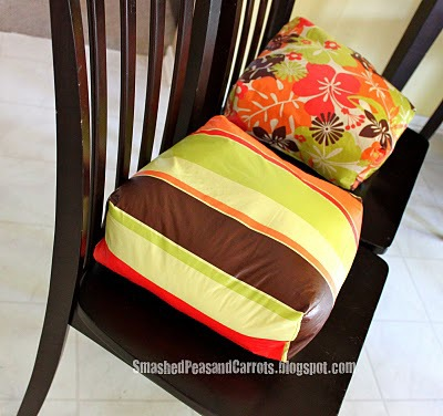 Booster Seat Cushions by Smashed Peas and Carrots