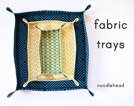 Fabric Trays by Nooldehead