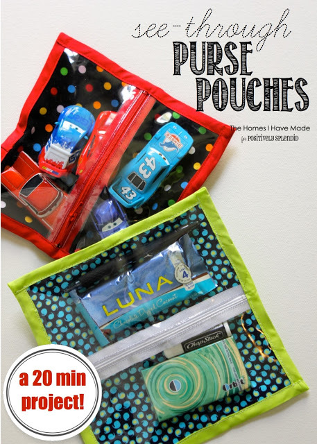 See Through Zipper Pouch by Positively Splendid
