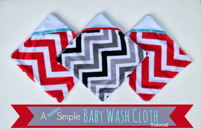 Baby Wash Cloth by sewVery