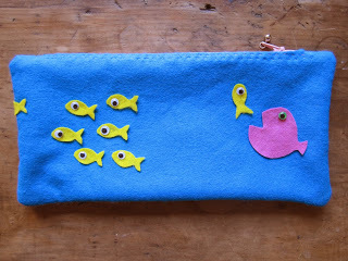 Pencil Case by Coloured Buttons